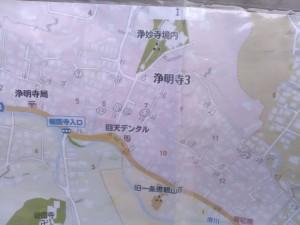 鎌倉市浄明寺の地図