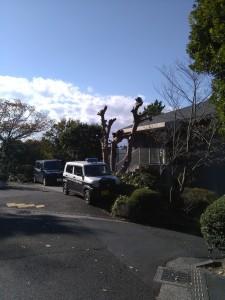 披露山庭園住宅の管理事務所